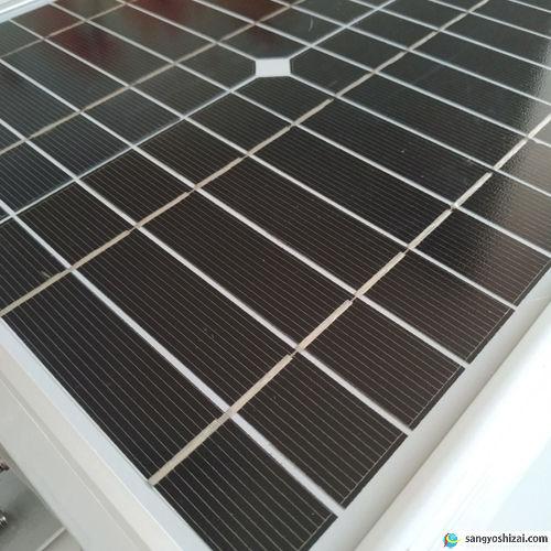 ソーラーLEDライト ソーラー発電パネル